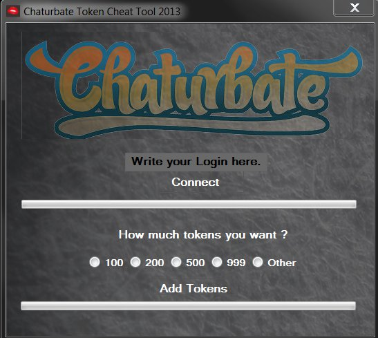 chaturbate token hack password free